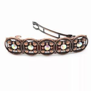 NWT anthropologie crystal hair clip